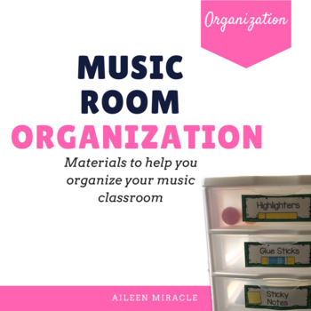 Music Room Organization