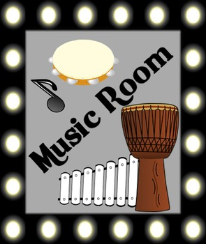 Music Room Poster