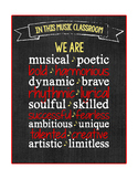 Music Room Printable Poster