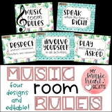 Music Room Rule Set - 4 Designs!