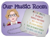 Music Room Rules
