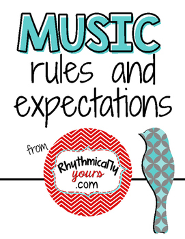 Music Room Rules and Expectations