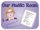 Music Room Scavenger Hunt