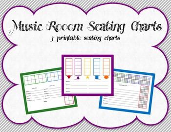 Music Room Seating Charts