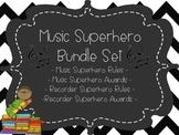 Music Room Superhero Bundle Set