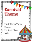 Music Room Theme Planner: Carnival/Circus