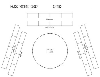 Music Room - seating chart template