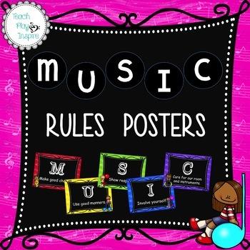 Music Rules - music kids theme