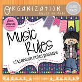 Music Room Rules {Arrows}