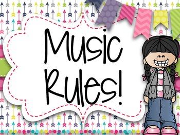 Music Rules {Arrows Light}