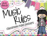 Music Rules - Music Decor - Arrows Light
