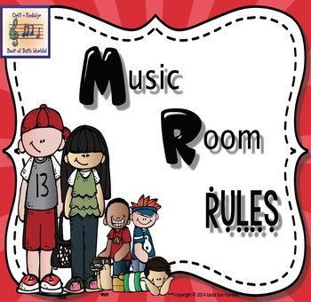 Music Rules Colorful Sunburst