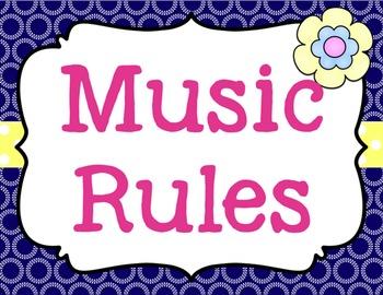 Music Rules {Editable} {Garden of Music}