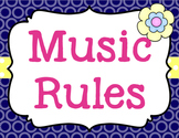 Music Rules {Editable} {Garden of Music}