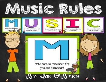 Music Rules Freebie