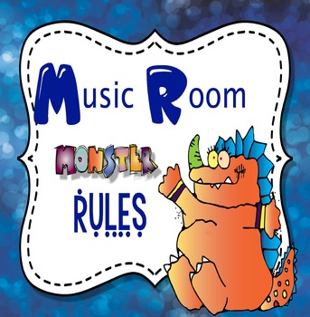Music Rules Monster Theme