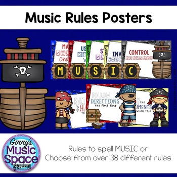 Music Rules {Pirate Themed}