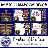 Music Rules Pirate Theme