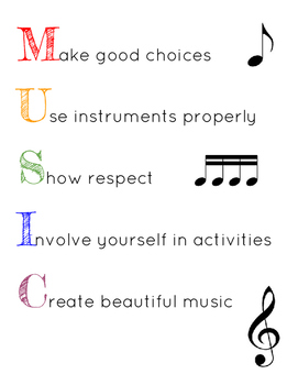 Music Rules Poster
