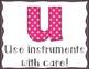 Music Rules Poster Set- Patterned Design