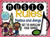 Music Rules- Posters and Songs {Music is a Universal Langu