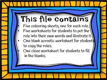 Music Rules Worksheets - Pirate Theme