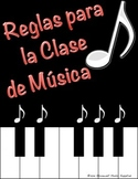 Music Rules in Spanish