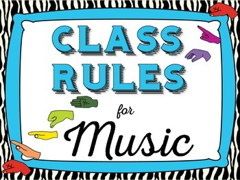 Music Rules, Zebra