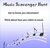 Music Scavenger Hunt