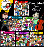 Music School Time Clip Art Mega Bundle