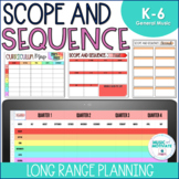 Music Scope and Sequence K-6