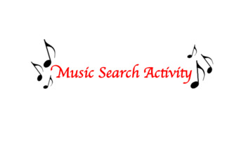 Music Search Activity