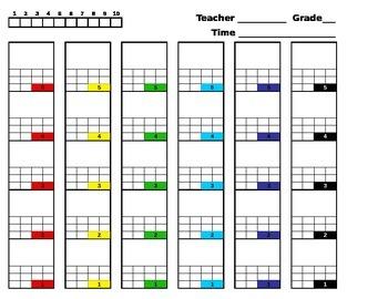 Music Seating Chart Editable