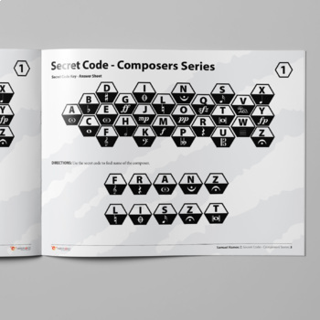 Music: Secret Code - Composers' Series