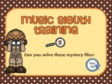 Music Sleuth Training Set 2