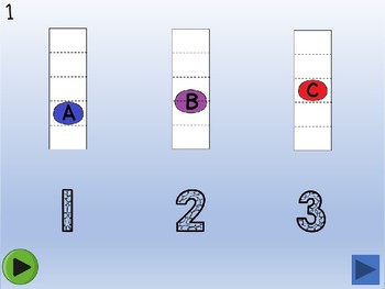 Music (Solfege) Touch & Hear - notes A,B,C