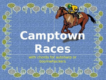 Folk Song: Camptown Races (sing-a-long with autoharp or bo