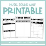 Music Sound Walk Printable & Google Slides™ | Distance Learning