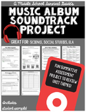 Music Album Soundtrack & Cover Design Project