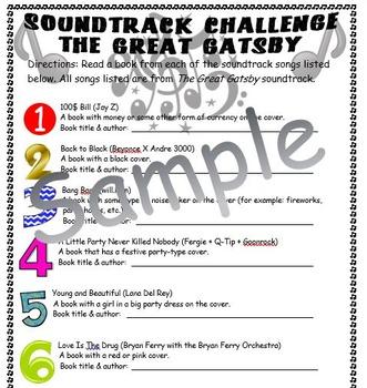 Music Soundtrack Reading Challenge