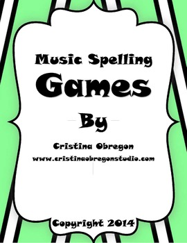 Music Spelling Games