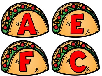 Music Staff Bulletin Board:  Let's TACO 'bout the Music Staff