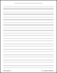 Music Staff Paper Printable Pack