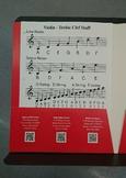 Music Staff Reference Sheets - Music Folder Resource