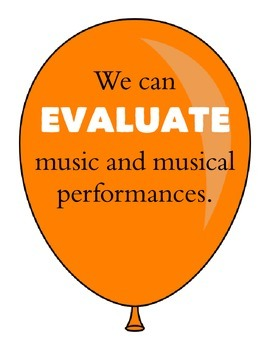 Music Standards UP Bulletin Board