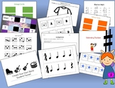 Music Stations for Elementary School - Great for Music Centers!