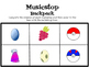 Music Stops: All inclusive pokemon themed music centers activity
