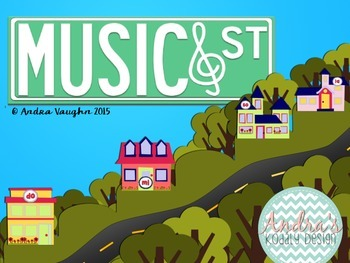 Music Street Visual All Tone sets