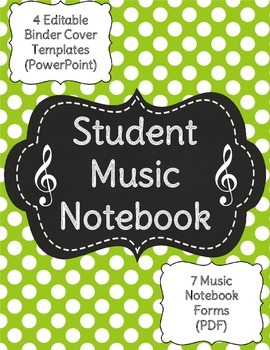 Music Student Notebook