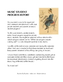 Music Student Progress Report